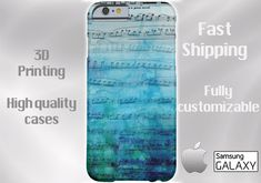 MUSIC NOTE CELL Phone Case iPhone 6 case Note 4 cell case