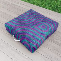 Magician Outdoor Floor Cushion by scardesign Picnic Blanket, Outdoor Blanket, Outdoor Floor Cushions, Oriental, Comfy, Purple, Decoration, Outdoor Decor, Modern