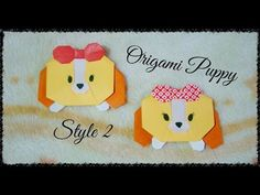 Origami Maniacs 190: Puppy 2/ Perrito 2 - YouTube