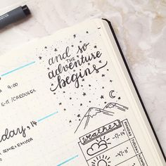 "213 Likes, 5 Comments - s a b i n a  the journal tea (@thejournaltea) on Instagram: ""and so the adventure begins ✨#bulletjournal #lovebulletjournal #bulletjournaljunkies…"""