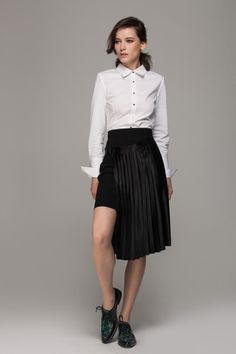 Sidekick: Why The Double-Skirt Is Our Favorite Fall Trend #refinery29  http://www.refinery29.com/double-skirt-trend#slide7