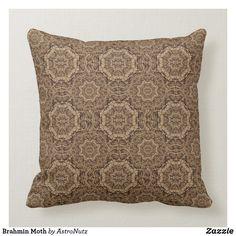 Shop Brahmin Moth Throw Pillow created by AstroNutz. Accent Pillows, Decorative Throw Pillows, Moth, Home Decor, Decorative Pillows, Homemade Home Decor, Decoration Home, Interior Decorating