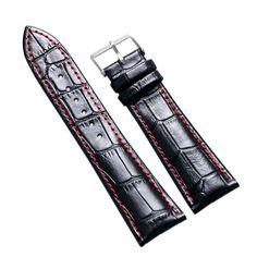 Leather Wristwatch Bands //Price: $9.97 & FREE Shipping //     #watchnerd #watchgeek #wristshot