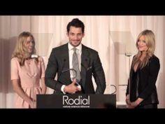 David Gandy at the 5th Rodial Beautiful awards - March 10 2014