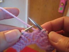 Norwegian Purling  Why did I not know how to do this?! Now my needles are gonna start a fire! Thanks Roxanne!