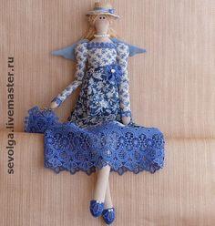 Купить Голубка - тильда, ангел тильда, фея тильда, интерьерная кукла, кукла Тильда ☆