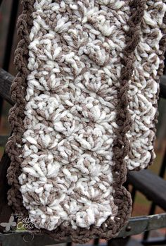 Triple the Scraps: Quick {Crochet} Scarf by Patter Cross.