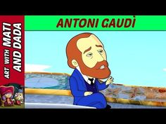 Art with Mati and Dada – Antoni Gaudì | Kids Animated Short Stories in English - YouTube