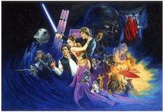 The Return of the Jedi, by Josh Kirby.