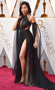 Taraji P. Henson Oscars 2018 Vera Wang