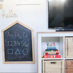 Garage and Shed Organization with the Konmari Method Pegboard Organization, Playroom Organization, Craft Room Storage, Organizing, Countertop Organization, Homemade Stencils, Konmari Methode, Ikea Kallax Unit, Small Craft Rooms