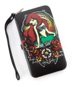 Another great find on #zulily! Little Mermaid Nautical Tattoo Case Wallet for iPhone 4/5 #zulilyfinds