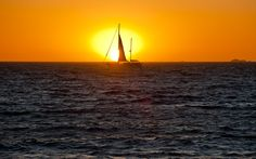 Sunset in Fremantle, Australia