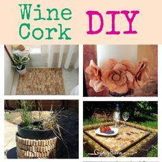 Reusing Old Wine Corks DIY