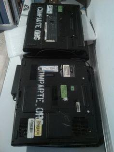Dos portatiles solidarios para arrels la troballa