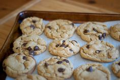 Whole Wheat Chewy Chocolate Chip Cookies.  -Yup, I can barely believe they are whole wheat AND chewy!