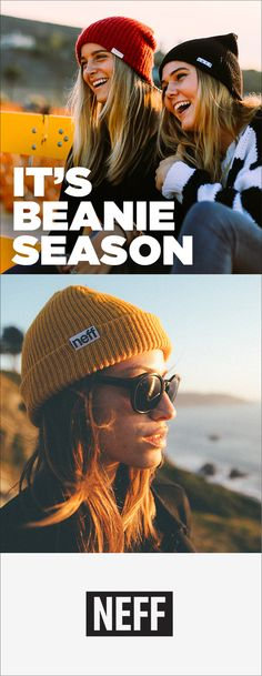 It's that time of year again! Gear up for beanie season. Made for those with a fun, active lifestyle... #ForeverFun