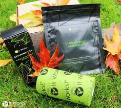 Who doesn't love walking through leaves, soaking in the pretty colours of autumn, and receiving our Basic Body Set?! It's time to get #WrappedandReady!