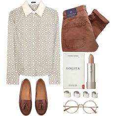 """nerdy"" by rosiee22 on Polyvore"