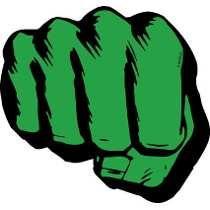 Imán Marvel Hulk Puño 95087