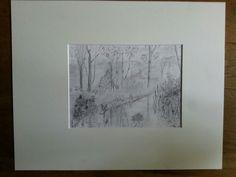 1e poging na workshop landschapstekenen