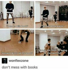 I'll probs do the same thing if Hoshi even dared to mess with my books.