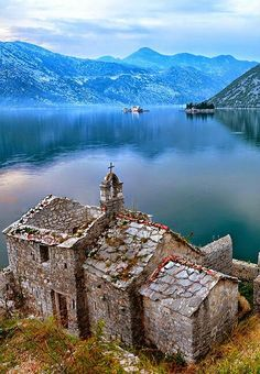 Bay of kotor. Montenegro