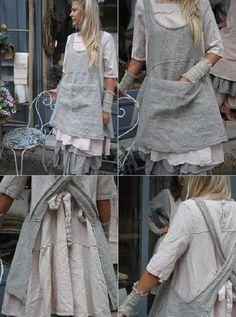 Бохо или домашняя одежда «французской кухарки» - Ярмарка Мастеров - ручная работа, handmade