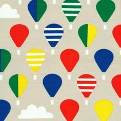 This would make a great shirt! 132420 Up So High from Small World by Rae Hoekstra for Cloud9 Fabrics