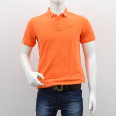 United Colors of Benetton – Orange Polo T-Shirt Polo T Shirts, Benetton, Shopping Sites, Men's Collection, Outlets, The Unit, Break Outs, Polo Shirts