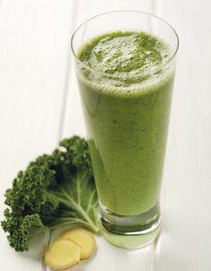 Kale Ginger Detox Blast   NutriLiving