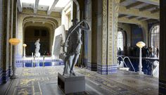 Walking on Gold--A Visit to Hearst Castle in California