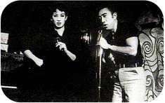 Akihiro Miwa and Yukio Mishima on stage together in the '60s http://www.flickr.com/photos/cinebeats/2965572041/