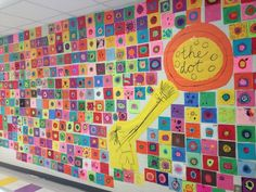 Ms. Motta's Mixed Media: Day one lesson: school wide mural