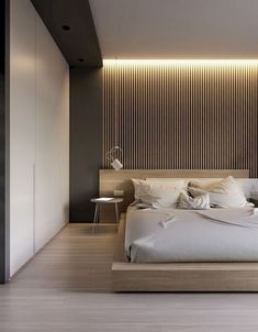 49 Modern Master Bedroom Design Ideas #modernmasterbedroom #modernbedroom #bedroomdesign ~ aacmm.com