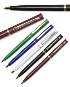 Premium quality retractable pen choice of finishes PILOT COUPE BALLPOINT PEN