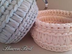 Crochet Bowl, Crochet Basket Pattern, Knit Basket, Crochet Chart, Love Crochet, Knit Crochet, Crochet Patterns, Crochet Pants, Crochet Baby Boots