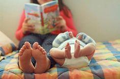 Lectora grande, lector pequeño