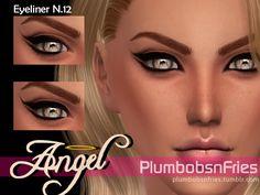 plumbobsnfries: Angel | Liner N.12 Eyeliner 3... | love 4 cc finds