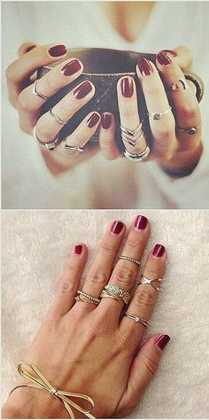13 ways to style your rings like a pro
