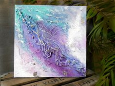 artistic look at a leaf Home And Deco, Decoration, Sculpture, Boutique, Videos, Crafty, Abstract, Canvas, Artwork