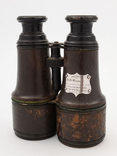 Large Pair of 19th Century Binoculars with NZ Railway Connection | Looking For…
