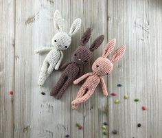 Baby Bunny, MADE TO ORDER, crochet bunny, crochet toy, baby bunny, easter bunny, brown rabbit, child gift, newborn birth gift