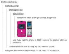 Ha I had this phone!