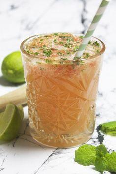 Alkoholfrie cocktails: Fem friske jomfruer til ham, der kører. Ginger Ale, Frisk, Lemonade, Mojito, Cocktails, Beverages, Food And Drink, Appetizers, Snacks