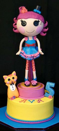 Lalaloopsy Harmony B Sharp Doll Cake #coupon code nicesup123 gets 25% off at  www.Skinception.com and www.leadingedgehealth.com