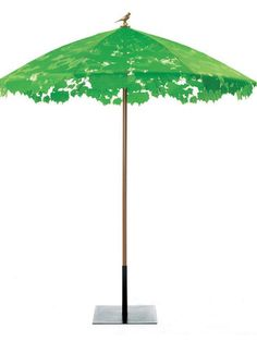 Chris Kabel  SHADY LACE GREEN PARASOL & BASE   # Pinterest++ for iPad #