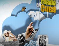 MÁS SE PERDIÓ EN CUBA by Gemma Alguacil, via Behance