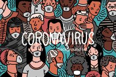 Coronavirus pandemic or Wuhan disease. Crowd of people in antiviral medical masks. Risk of illness spreading. Very Easy Hairstyles, Accounting Logo, Photoshop Design, Sports Day, Rock Art, How To Draw Hands, Drawings, Creative, Illustration