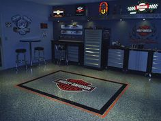 Convert Your Garage into a Man Cave - Man Cave Home Bar Man Cave Garage, Man Cave Basement, Garage Shop, Garage House, Dream Garage, Garage Kits, Garage Gym, Cave Man, Man Cave Home Bar